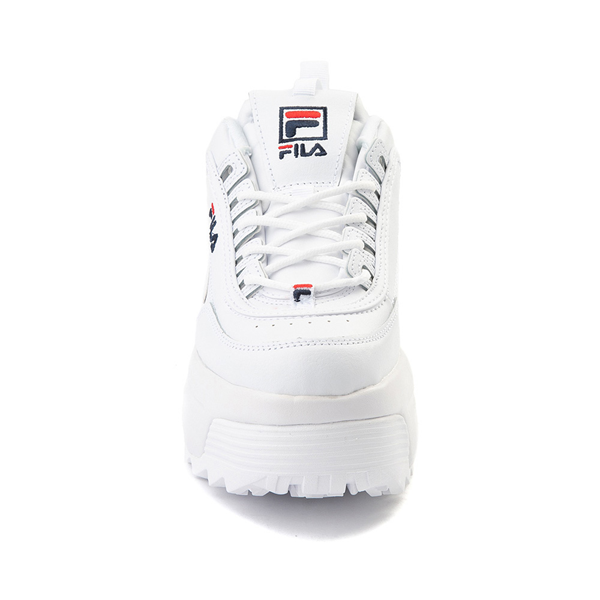 alternate view Womens Fila Disruptor Platform Wedge Athletic Shoe - WhiteALT4