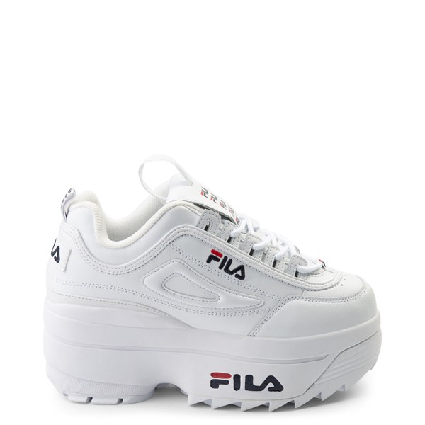 Womens Fila Disruptor Wedge Athletic Shoe