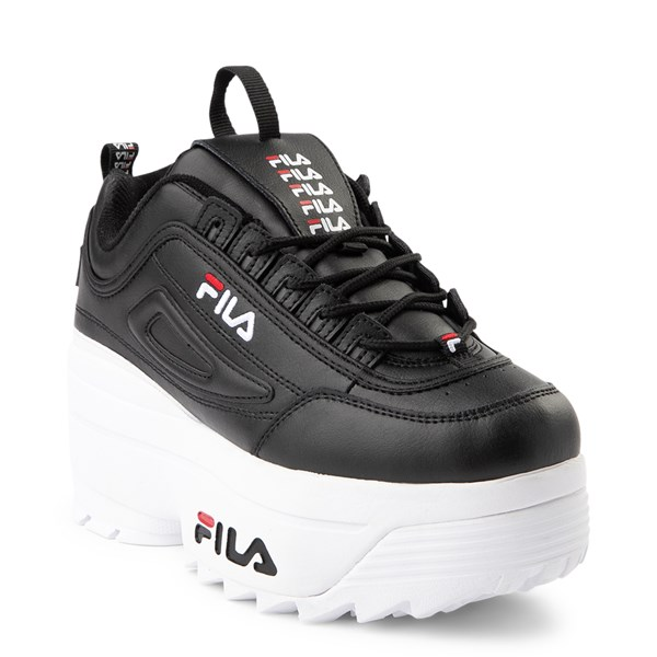alternate view Womens Fila Disruptor Wedge Athletic ShoeALT1
