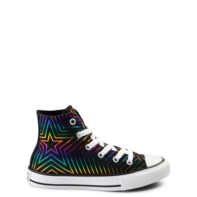 Main view of Converse Chuck Taylor All Star Hi Sneaker - Little Kid - Black / Multi