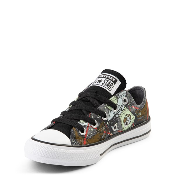 alternate view Converse Chuck Taylor All Star Lo Dinoverse Sneaker - Little Kid - MultiALT3