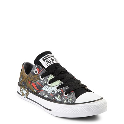 Alternate view of Converse Chuck Taylor All Star Lo Dinoverse Sneaker - Little Kid - Multi