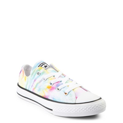 Alternate view of Converse Chuck Taylor All Star Lo Tie Dye Sneaker - Little Kid - Multi