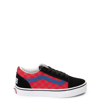 Main view of Vans Old Skool OTW Rally Chex Skate Shoe - Little Kid / Big Kid