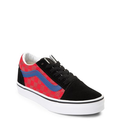 Alternate view of Vans Old Skool OTW Rally Chex Skate Shoe - Little Kid / Big Kid