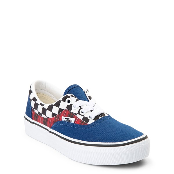 Alternate view of Vans Era Plaid Chex Skate Shoe - Little Kid / Big Kid