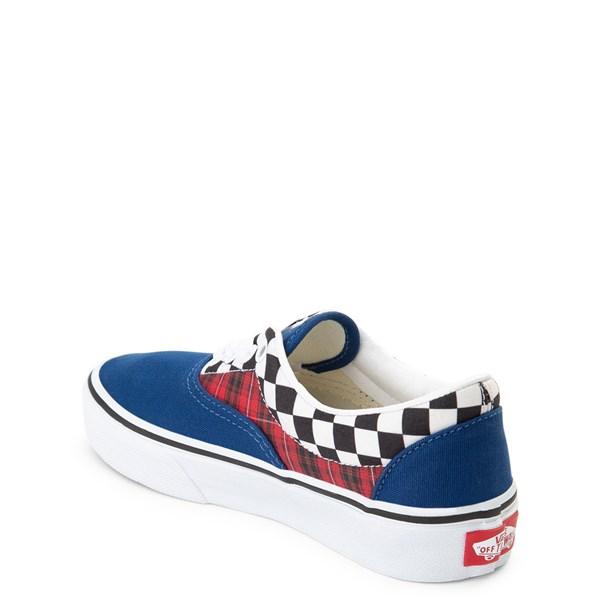 alternate view Vans Era Plaid Chex Skate Shoe - Little Kid / Big KidALT2