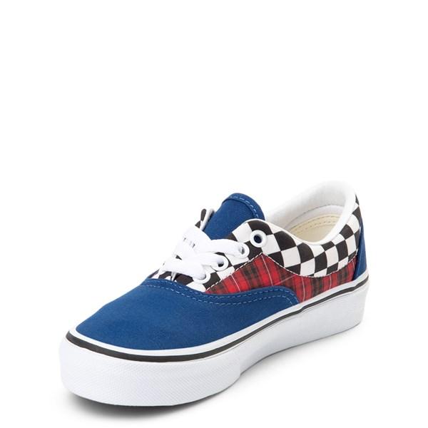 alternate view Vans Era Plaid Chex Skate Shoe - Little Kid / Big KidALT3