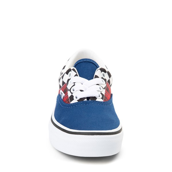 alternate view Vans Era Plaid Chex Skate Shoe - Little Kid / Big KidALT4