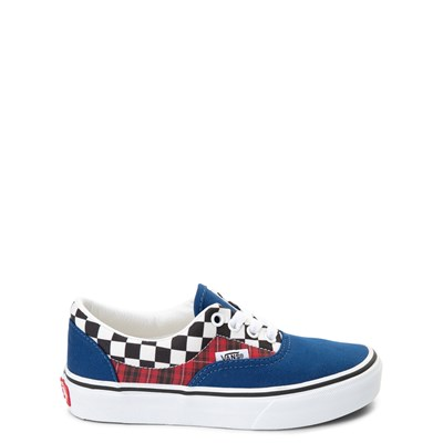 Main view of Vans Era Plaid Chex Skate Shoe - Little Kid / Big Kid