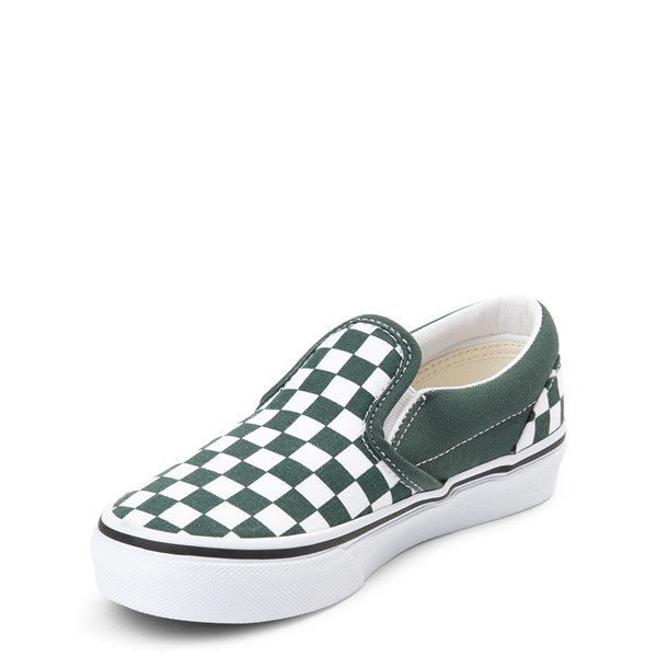 alternate view Vans Slip On Chex Skate Shoe - Little Kid / Big KidALT3