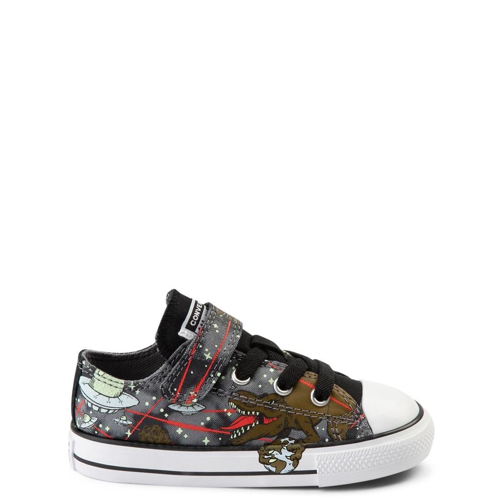 Converse Chuck Taylor All Star Lo Dinoverse Sneaker - Baby / Toddler - Black / Multi