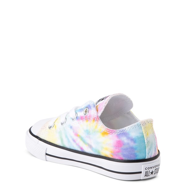 alternate view Converse Chuck Taylor All Star Lo Tie Dye Sneaker - Baby / Toddler - MultiALT2