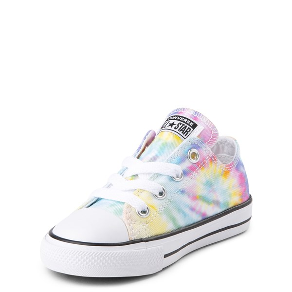 alternate view Converse Chuck Taylor All Star Lo Tie Dye Sneaker - Baby / Toddler - MultiALT3