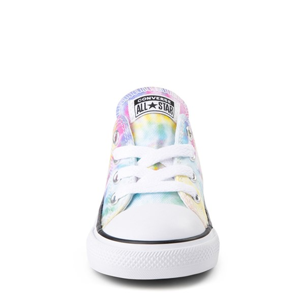 alternate view Converse Chuck Taylor All Star Lo Tie Dye Sneaker - Baby / Toddler - MultiALT4