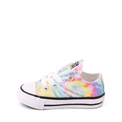 Alternate view of Converse Chuck Taylor All Star Lo Tie Dye Sneaker - Baby / Toddler - Multi