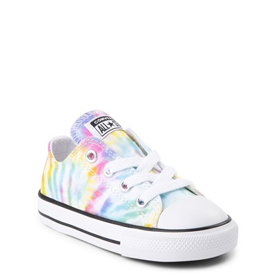 Alternate view of Converse Chuck Taylor All Star Lo Tie Dye Sneaker - Baby / Toddler
