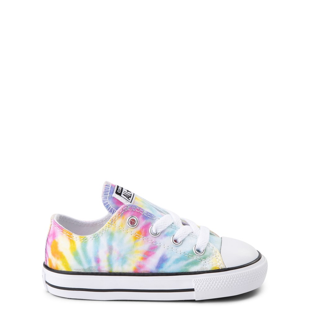 Converse Chuck Taylor All Star Lo Tie Dye Sneaker - Baby / Toddler - Multi