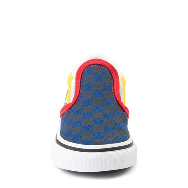 alternate view Vans Slip On OTW Rally Checkerboard Skate Shoe - Baby / Toddler - MultiALT4
