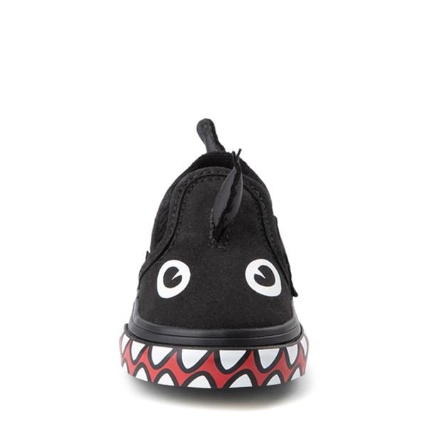 alternate view Vans x Discovery's Shark Week Slip On V Skate Shoe - Baby / ToddlerALT4