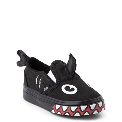 Alternate view of Vans x Discovery's Shark Week Slip On V Skate Shoe - Baby / Toddler