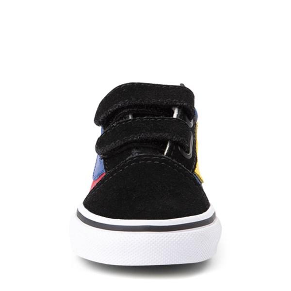 alternate view Vans Old Skool V OTW Rally Chex Skate Shoe - Baby / ToddlerALT4