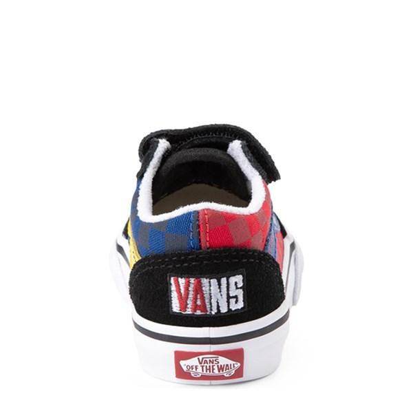 alternate view Vans Old Skool V OTW Rally Chex Skate Shoe - Baby / ToddlerALT6