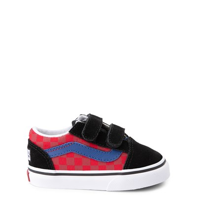 Main view of Vans Old Skool V OTW Rally Chex Skate Shoe - Baby / Toddler
