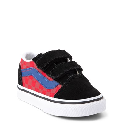 Alternate view of Vans Old Skool V OTW Rally Chex Skate Shoe - Baby / Toddler