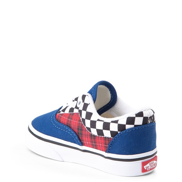 alternate view Vans Era Plaid Chex Skate Shoe - Baby / ToddlerALT2