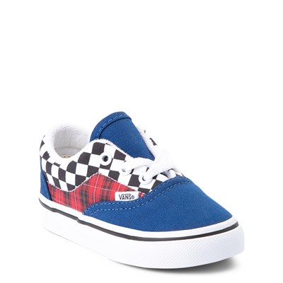 Alternate view of Vans Era Plaid Chex Skate Shoe - Baby / Toddler