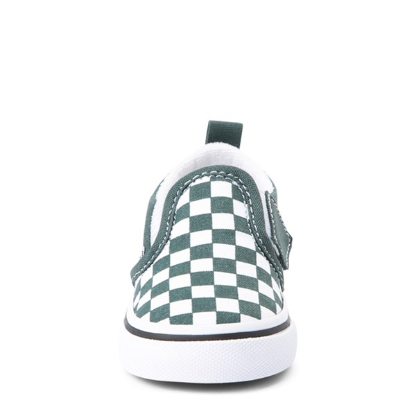 alternate view Vans Slip On Checkerboard Skate Shoe - Baby / ToddlerALT4