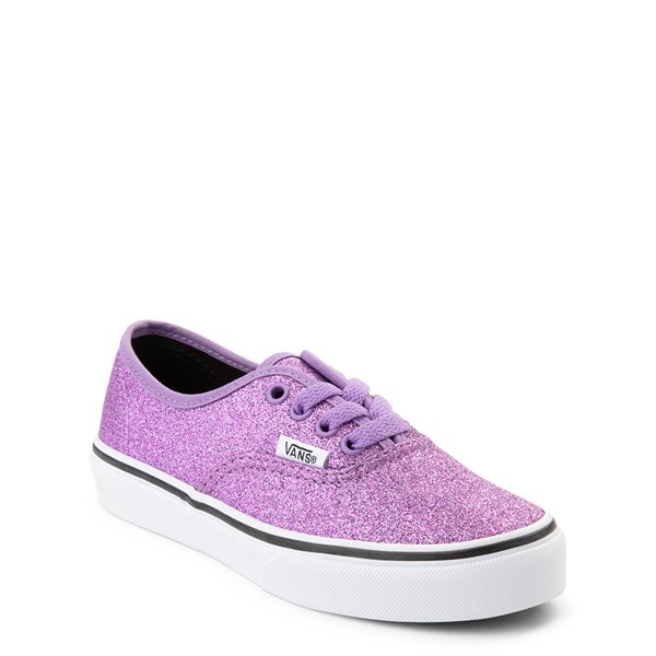 Alternate view of Vans Authentic Glitter Skate Shoe - Little Kid / Big Kid