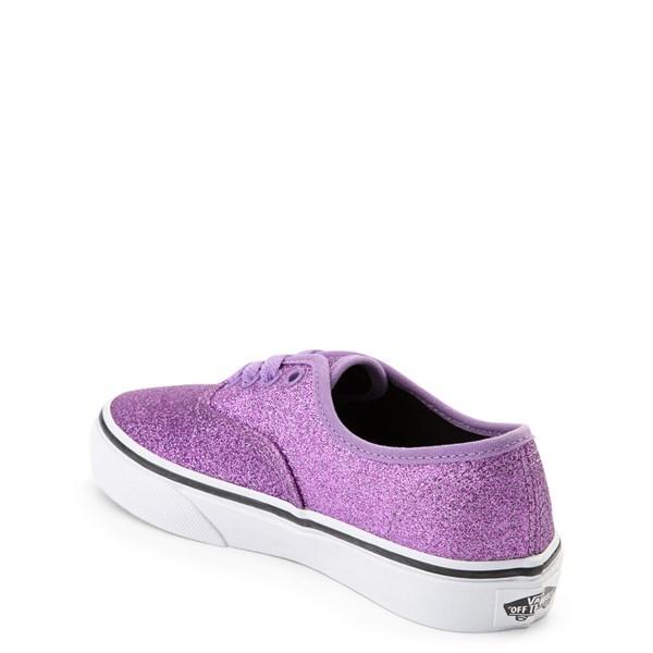 alternate view Vans Authentic Glitter Skate Shoe - Little Kid / Big KidALT2