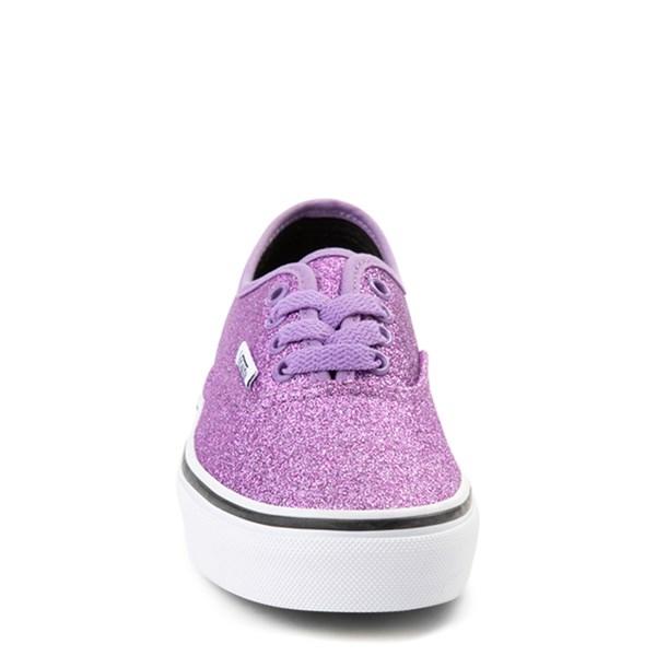 alternate view Vans Authentic Glitter Skate Shoe - Little Kid / Big KidALT4