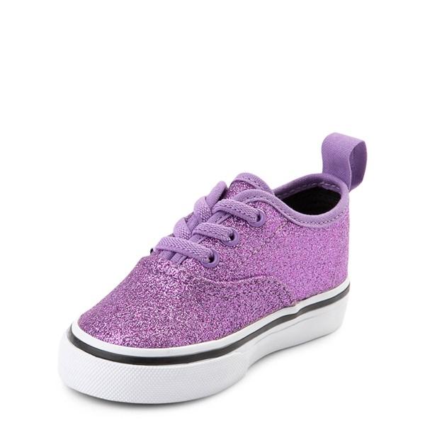 alternate view Vans Authentic Glitter Skate Shoe - Baby / ToddlerALT3
