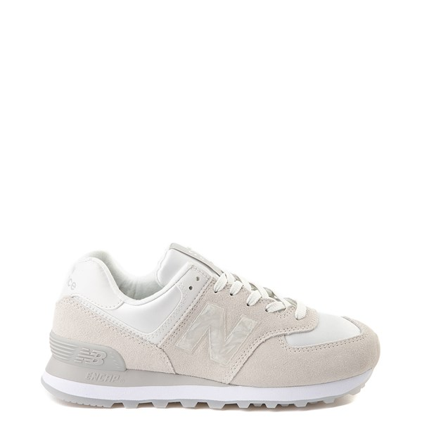 Womens New Balance 574 Athletic Shoe - Winter White