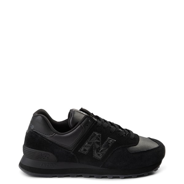 Womens New Balance 574 Athletic Shoe - Black