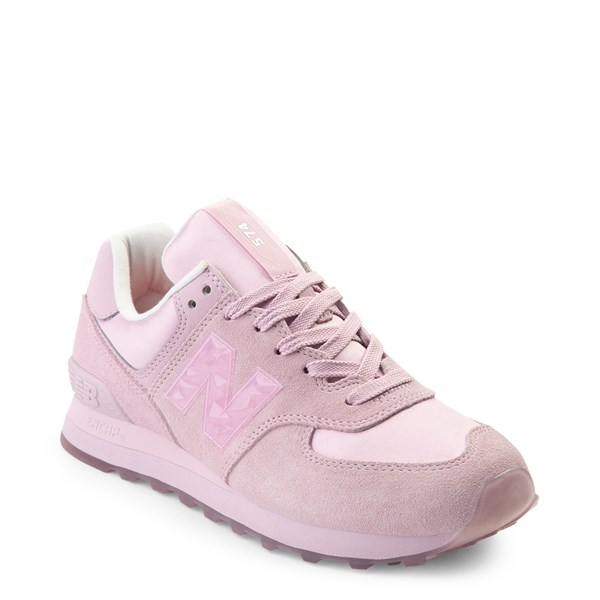 alternate view Womens New Balance 574 Athletic Shoe - PinkALT1