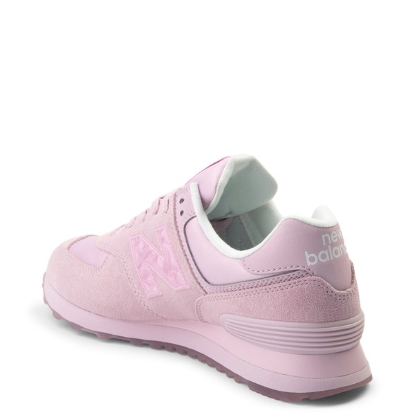 alternate view Womens New Balance 574 Athletic Shoe - PinkALT2