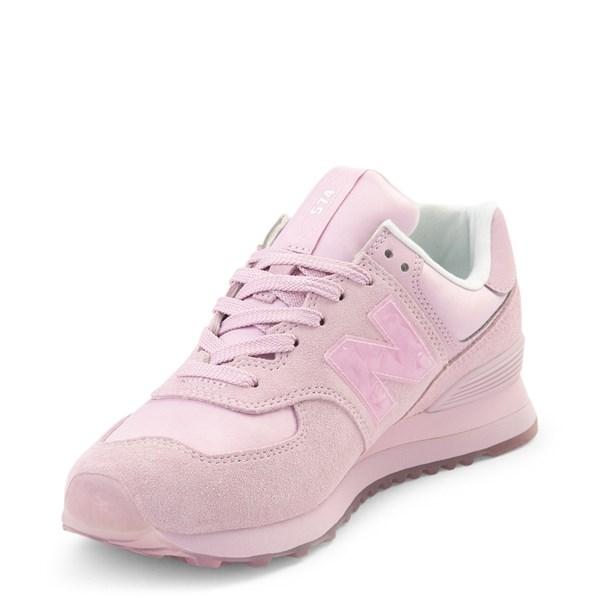 alternate view Womens New Balance 574 Athletic Shoe - PinkALT3