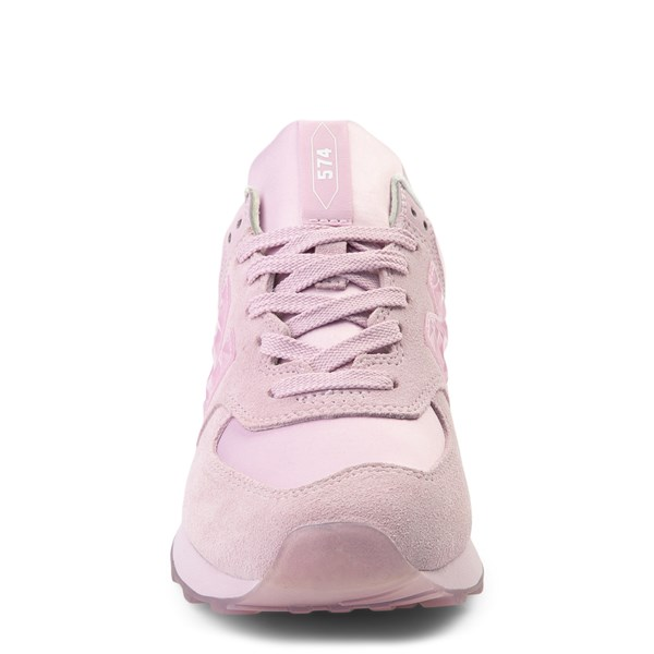alternate view Womens New Balance 574 Athletic Shoe - PinkALT4