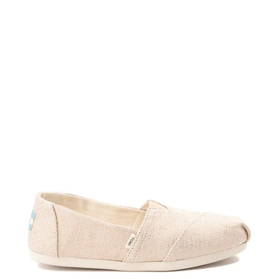 Main view of Womens TOMS Classic Slip On Casual Shoe - Natural