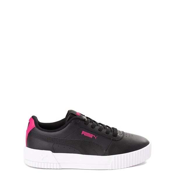 Puma Carina Athletic Shoe - Big Kid - Black / Pink