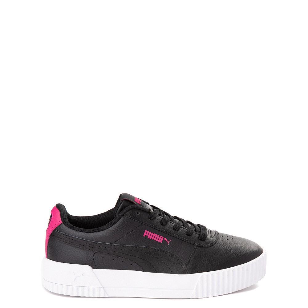 Puma Carina Athletic Shoe - Big Kid - Black / Pink