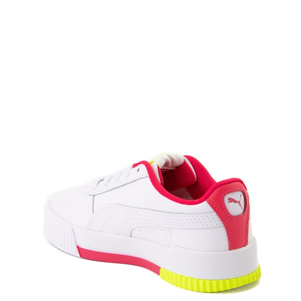 alternate view Puma Carina Athletic Shoe - Little Kid / Big KidALT2