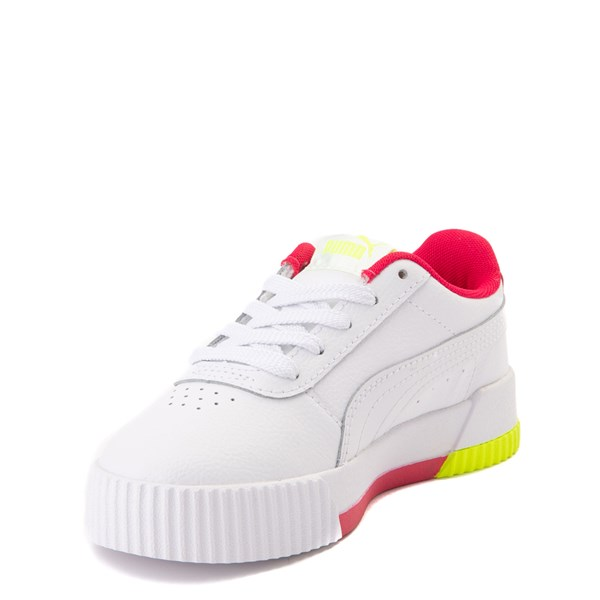 alternate view Puma Carina Athletic Shoe - Little Kid / Big KidALT3