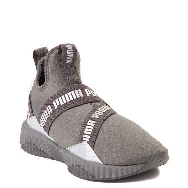 alternate view Puma Defy Mid Athletic Shoe - Big KidALT1
