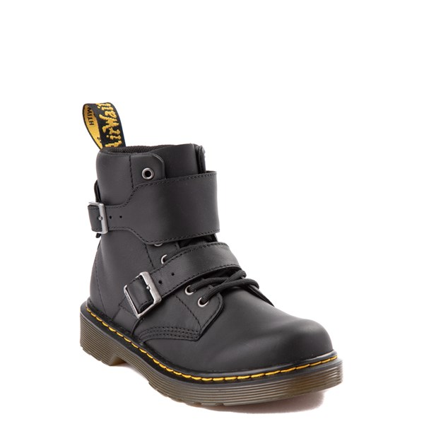 alternate view Dr. Martens 1460 8-Eye Joska Boot - Little Kid / Big Kid - BlackALT1
