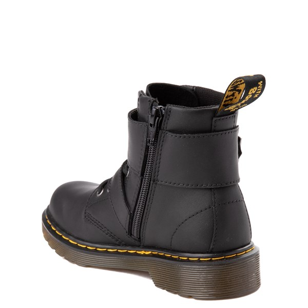 alternate view Dr. Martens 1460 8-Eye Joska Boot - Little Kid / Big Kid - BlackALT2
